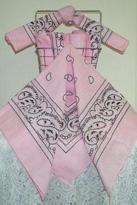 Pink Bandanas