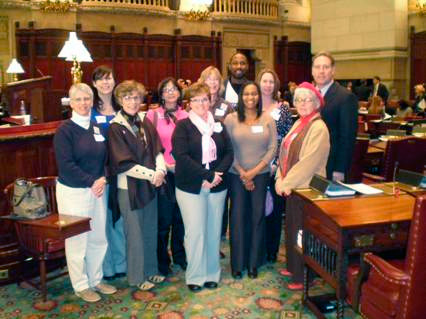 Advocates in Albany.
