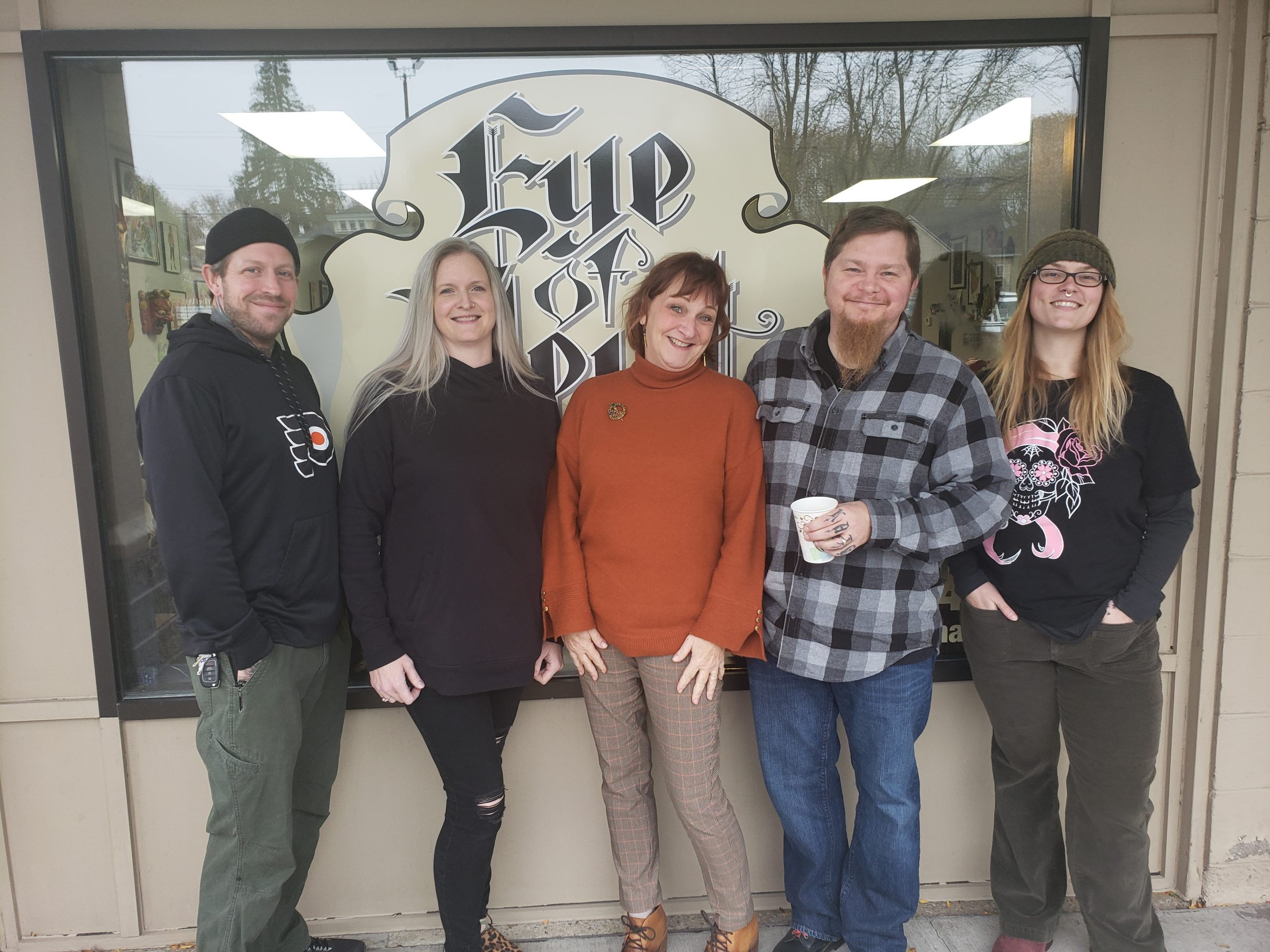 Eye of Newt Tattoo honors a family member with a fundraiser benefiting the Coalition.