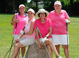 TEE'd Off at Breast Cancer Golf Tournament! Join us!