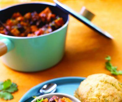 Quick Black Bean and Sweet Potato Chili3